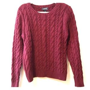 Cable knit sweater NWOT